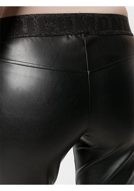 Pantalone nero RICHMOND | PANTALONI | RWA20234PA3SBLACK