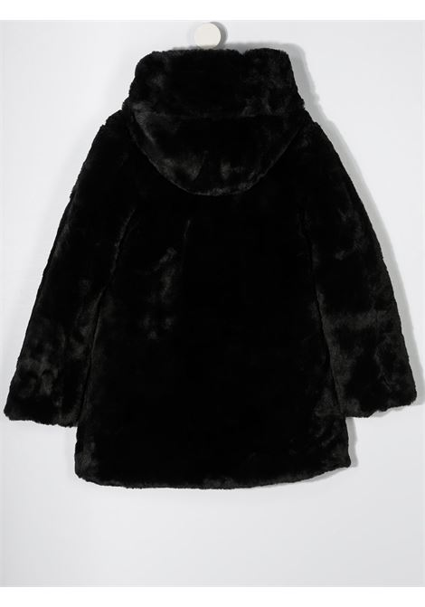 Cappotto nero SAVE THE DUCK | PELLICCE | J4007GFURYY00001