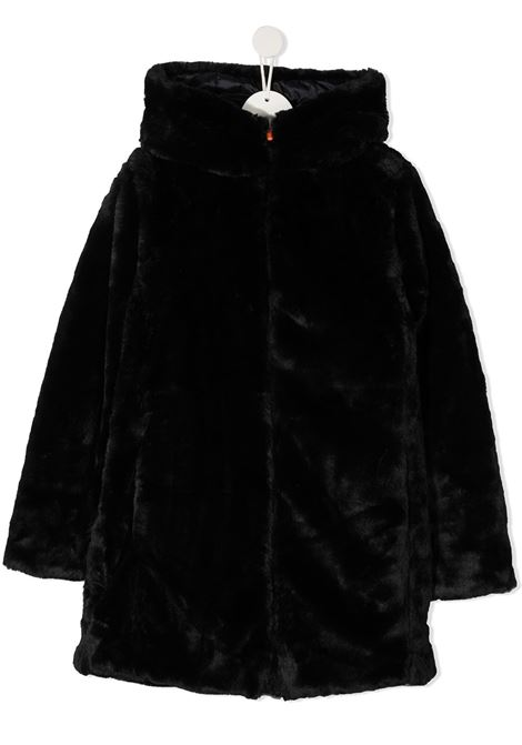 Cappotto nero SAVE THE DUCK | PELLICCE | J4007GTFURYY00001