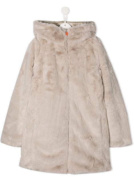 Cappotto bianco SAVE THE DUCK | PELLICCE | J4007GTFURYY00125