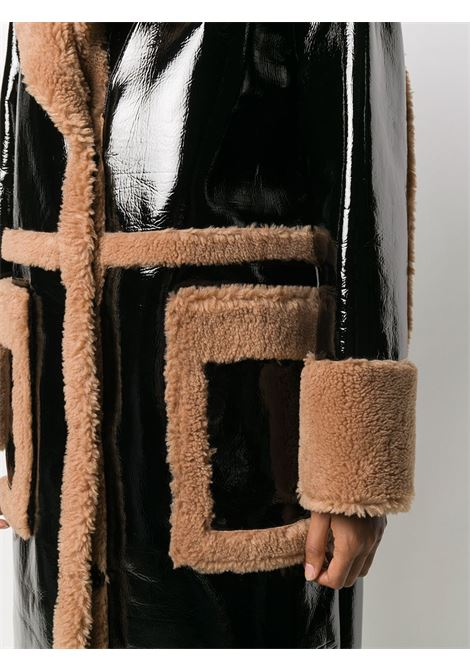 Cappotto nero/marrone STAND | CAPPOTTI | 61067906089900