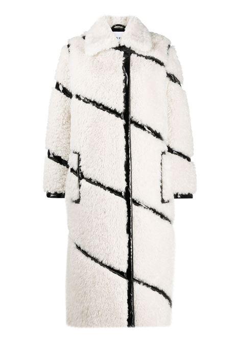 Cappotto bianco/nero STAND | CAPPOTTI | 61071906096000