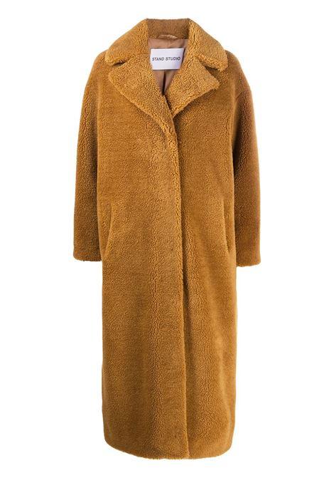 Cappotto marrone STAND | CAPPOTTI | 61185904012000
