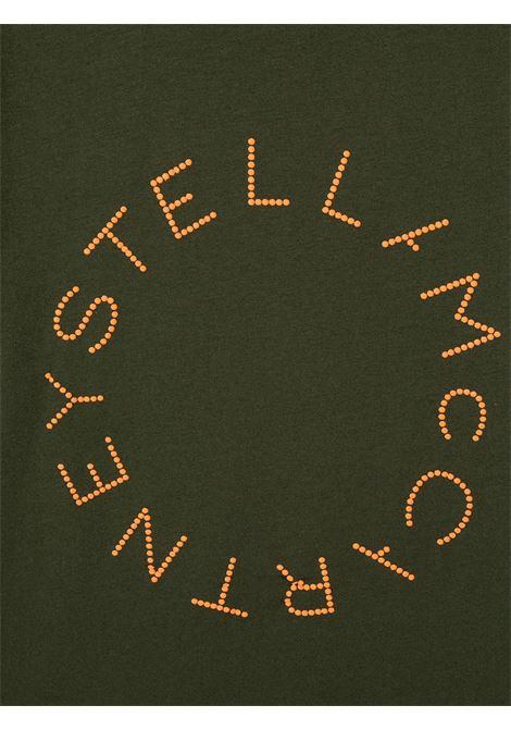 T-shirt verde STELLA Mc.CARTNEY | T-SHIRT | 600981SPJ773251
