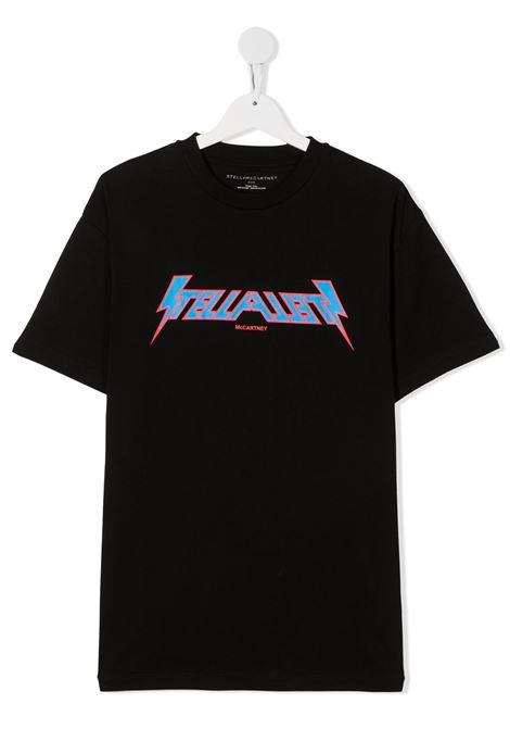 T-shirt nera STELLA Mc.CARTNEY | T-SHIRT | 600981TSPJ411000