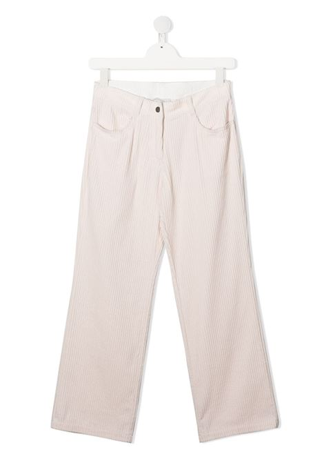 Pantalone crema STELLA Mc.CARTNEY | PANTALONI | 601259TSPK109241