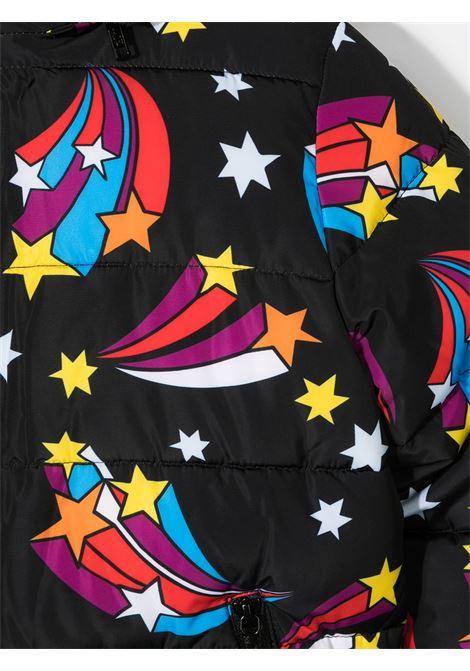 Giacca nera con disegni STELLA Mc.CARTNEY | BOMBER | 601279SPKB8G104