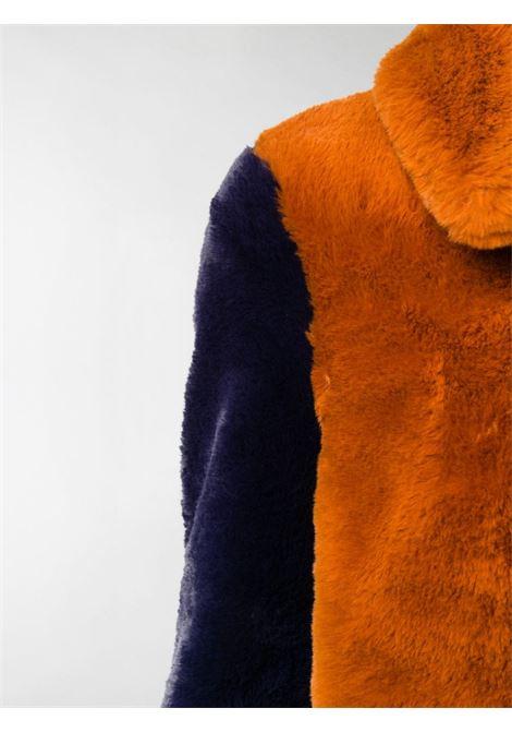 Cappotto arancio / beige / blu notte STELLA Mc.CARTNEY | CAPPOTTI | 601930SPB099561