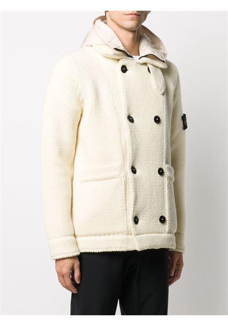 Cappotto bianco STONE ISLAND | CAPPOTTI | MO7315557B8V0035