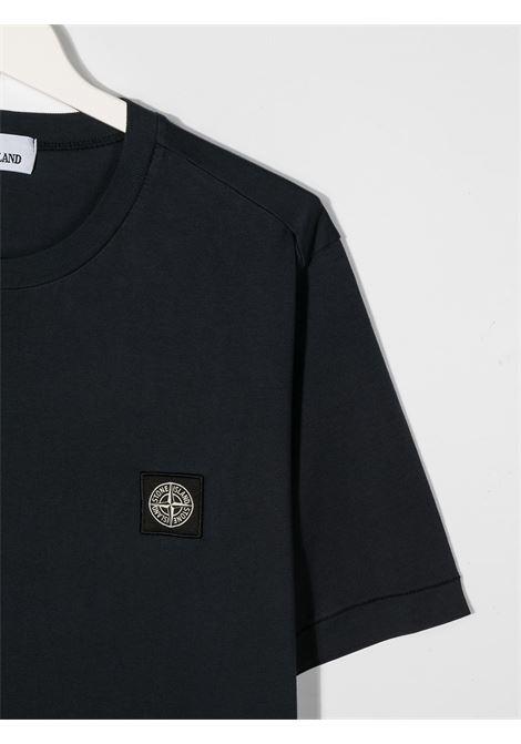 T-shirt blu STONE ISLAND | T-SHIRT | MO731620147TV0028
