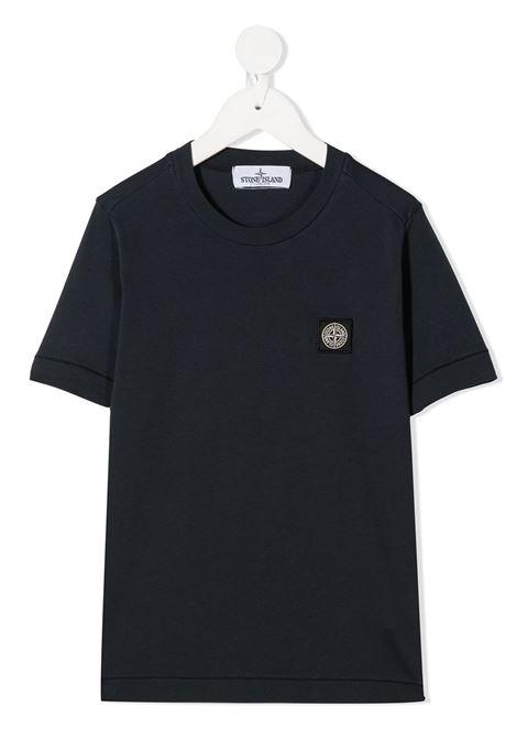T-shirt blu STONE ISLAND | T-SHIRT | MO731620147V0028