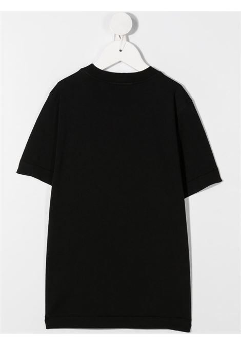 T-shirt nera STONE ISLAND | T-SHIRT | MO731620147V0029