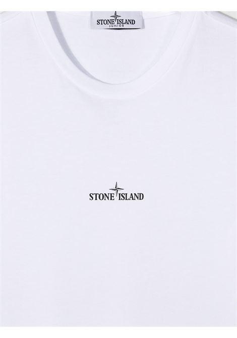 T-shirt bianca STONE ISLAND | T-SHIRT | MO731621054TV0001