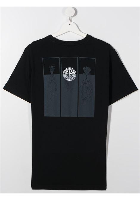 T-shirt blu scuro STONE ISLAND | T-SHIRT | MO731621054TV0020