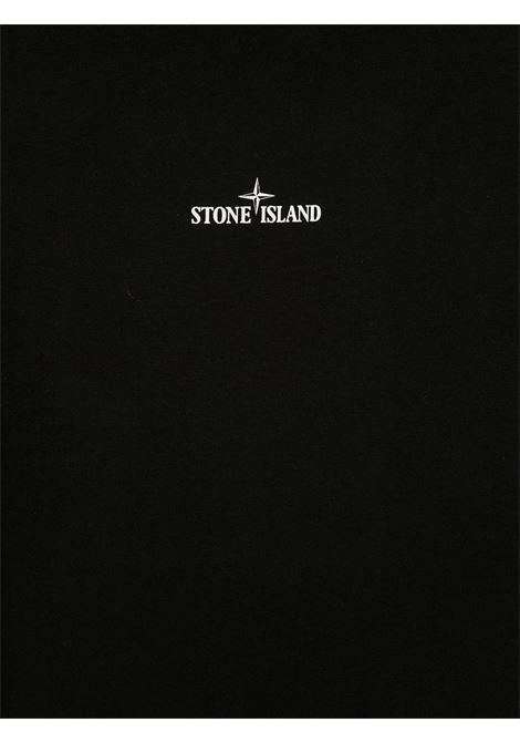 T-shirt nera STONE ISLAND | T-SHIRT | MO731621054TV0029