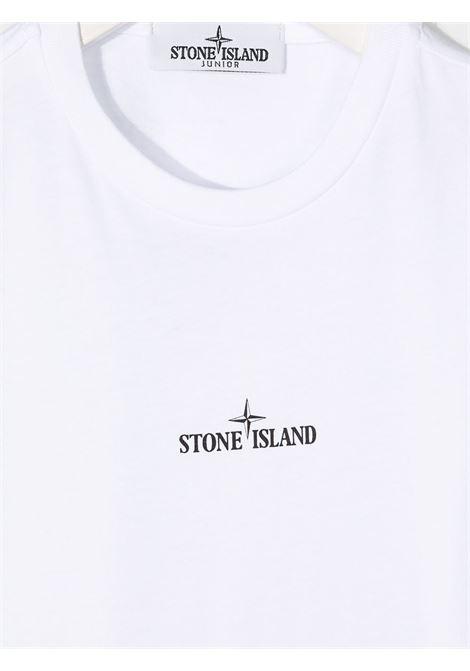 Maglia bianca STONE ISLAND | T-SHIRT | MO731621054V0001