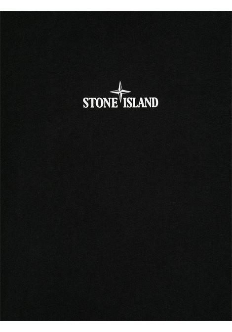 T-shirt nera STONE ISLAND | T-SHIRT | MO731621054V0029
