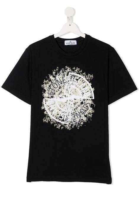 T-shirt blu scuro STONE ISLAND | T-SHIRT | MO731621057TV0020