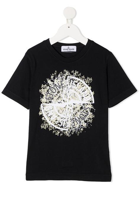 T-shirt blu scuro STONE ISLAND | T-SHIRT | MO731621057V0020
