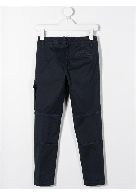 Pantalone blu STONE ISLAND   PANTALONI   MO731630411V0128