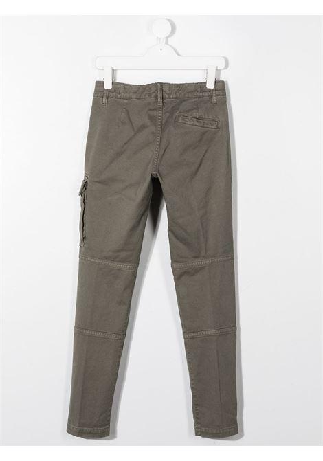 Pantalone verde STONE ISLAND   PANTALONI   MO731630411V0168