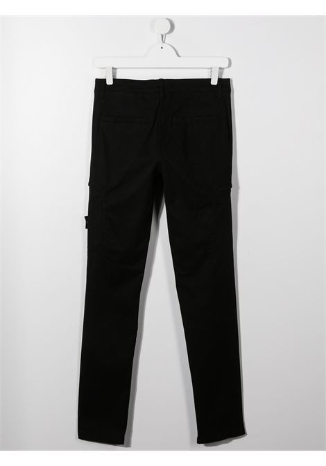 Pantalone nero STONE ISLAND   PANTALONI   MO731630814TV0029