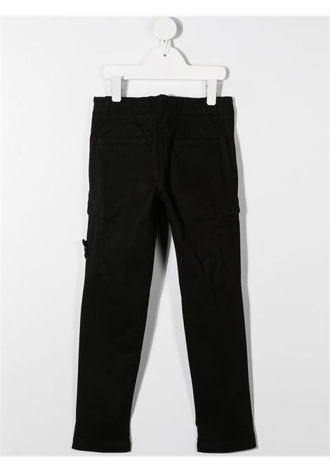 Pantalone nero STONE ISLAND   PANTALONI   MO731630814V0029