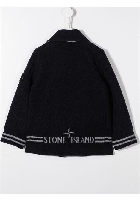 Giubbino nero STONE ISLAND | GIACCONI | MO731641436V0020