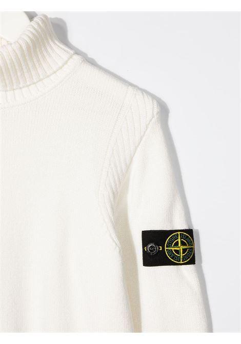 Maglione bianco STONE ISLAND | MAGLIONE | MO7316504A2V0099