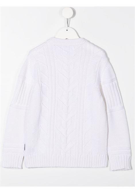 Maglione bianco STONE ISLAND   MAGLIE   MO7316520A6V0099
