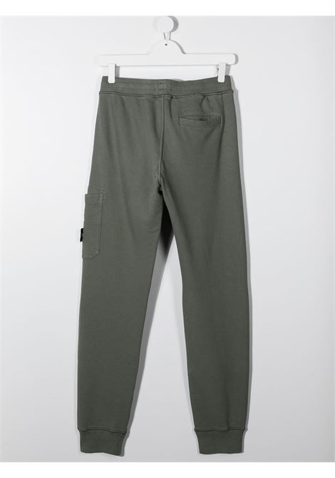 Pantalone fango verde STONE ISLAND | PANTALONI | MO731661540TV0068