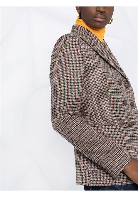 Blue/multicolour blazer TAGLIATORE 0205 | JACKETS | JANISE1GK77230EB813
