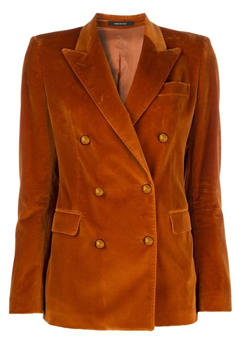 Rust orange blazer TAGLIATORE 0205 | JACKETS | JPARIGI10B80054K1218