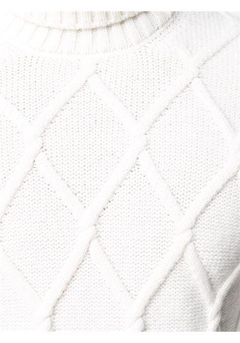 White jumper TAGLIATORE 0205 | SWEATER | ODIN539GSI2019005