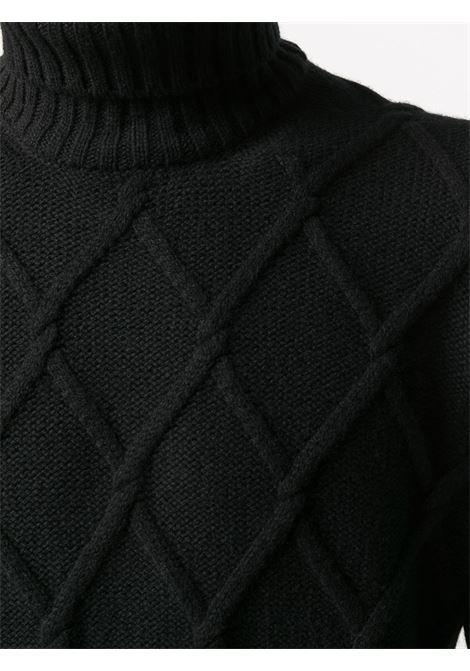 Maglione nero TAGLIATORE 0205 | MAGLIONE | ODIN539GSI2019099