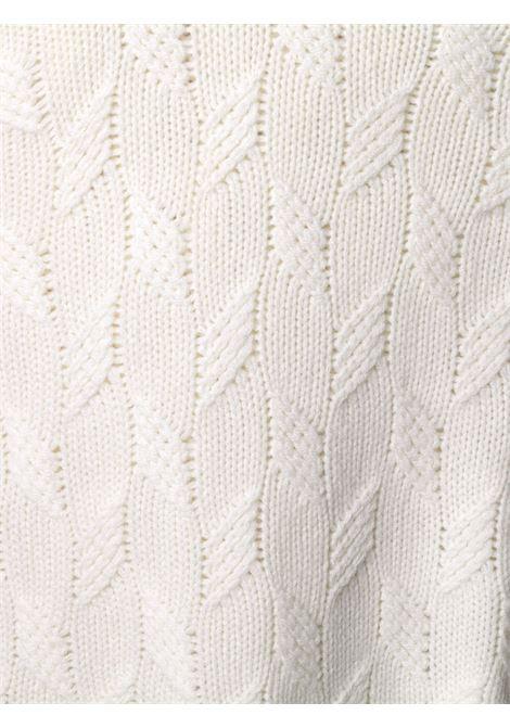 White jumper TAGLIATORE 0205 | SWEATER | RICO509GSI2020005