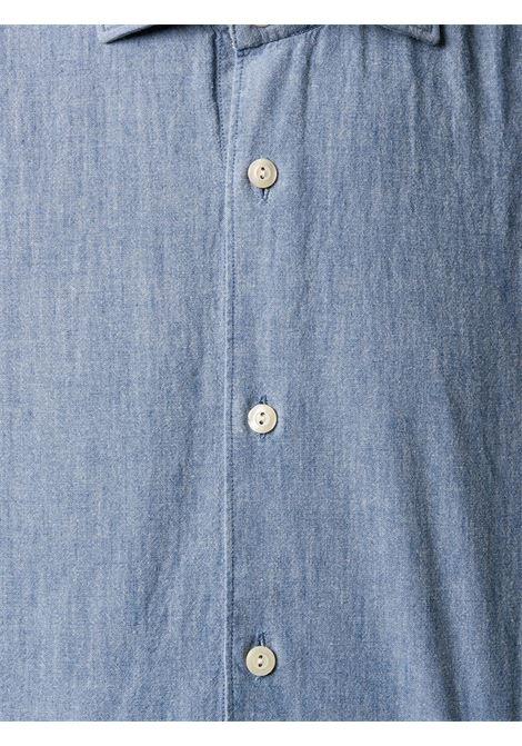 Camicia blu TINTORIA MATTEI | CAMICIE | RH1NM2UZ1