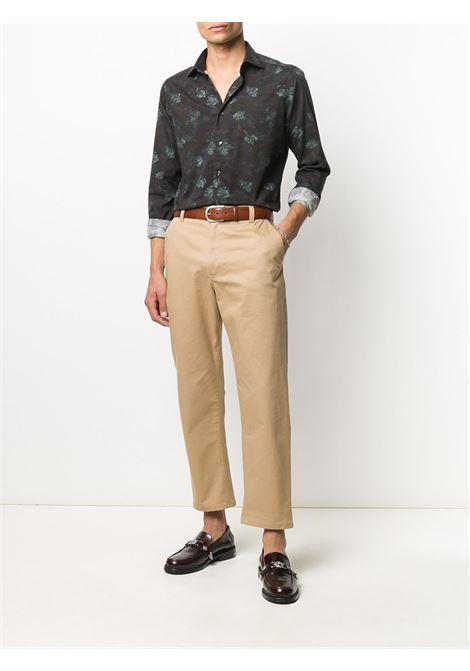 Camicia nera TINTORIA MATTEI | CAMICIE | T7ANJWFX1