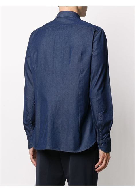 Camicia blu TINTORIA MATTEI | CAMICIE | USANM2UZ1