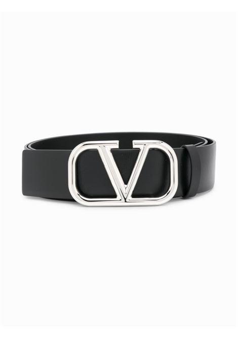 Cintura nera VALENTINO GARAVANI | CINTURE | UY2T0Q87SNP0NO