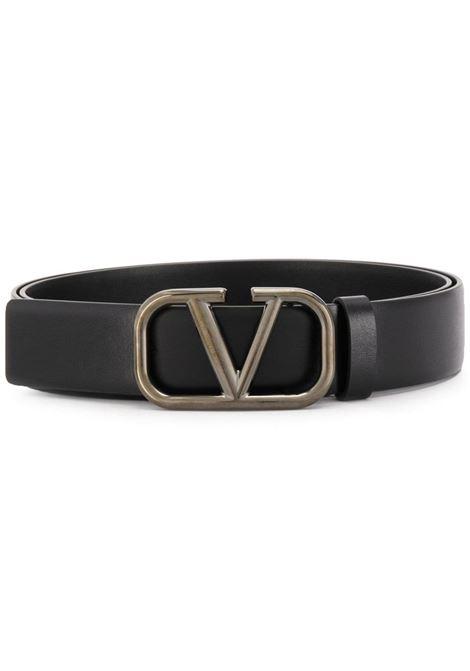 Cintura con logo VALENTINO GARAVANI | CINTURE | UY2T0Q90AZR0NO