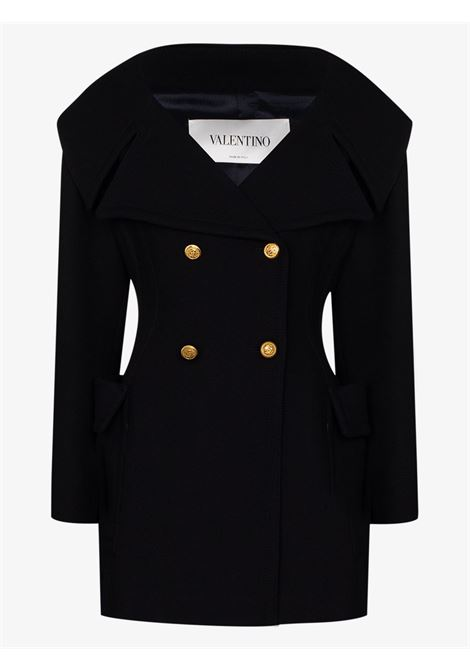 Cappotto blu VALENTINO PAP | CABAN | UB0CJ1N04G8598
