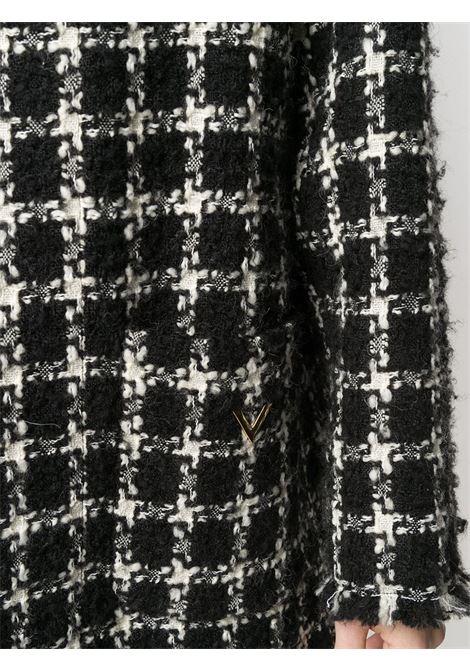 Cappotto nero/bianco VALENTINO PAP | CAPPOTTI | UB3CA5505LC0NA