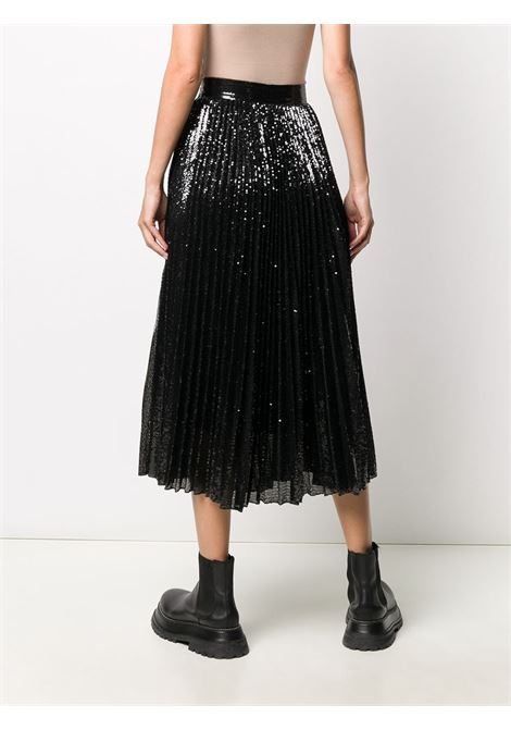 Black/Silver skirt VALENTINO PAP | SKIRTS | UB3MD02E5NFN46
