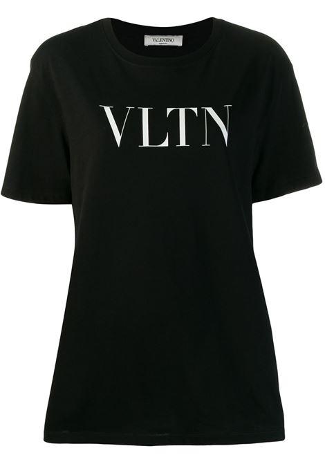 Black t-shirt VALENTINO PAP |  | UB3MG07D3V60NI
