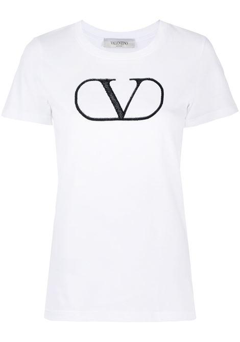 White t-shirt VALENTINO PAP |  | UB3MG07Z5Q20BO
