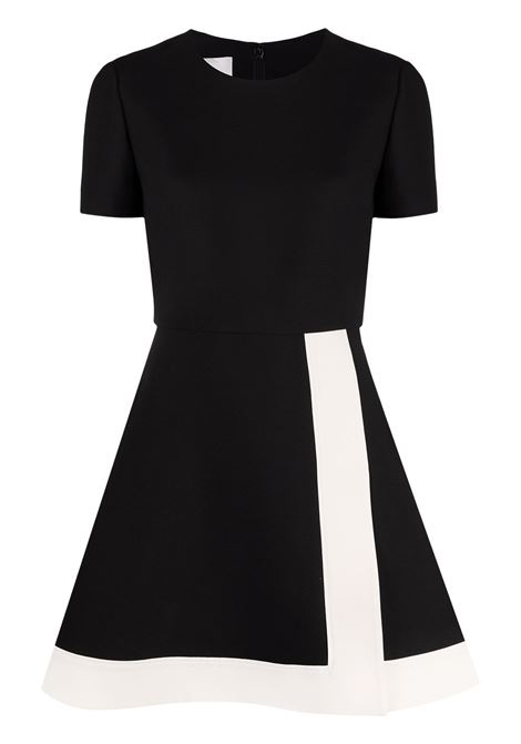 Black/white dress VALENTINO PAP | DRESS | UB3VASJ61CF0NA