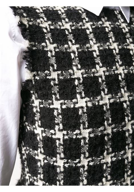 Vestito nero/bianco VALENTINO PAP | ABITI | UB3VASY55LC0NA