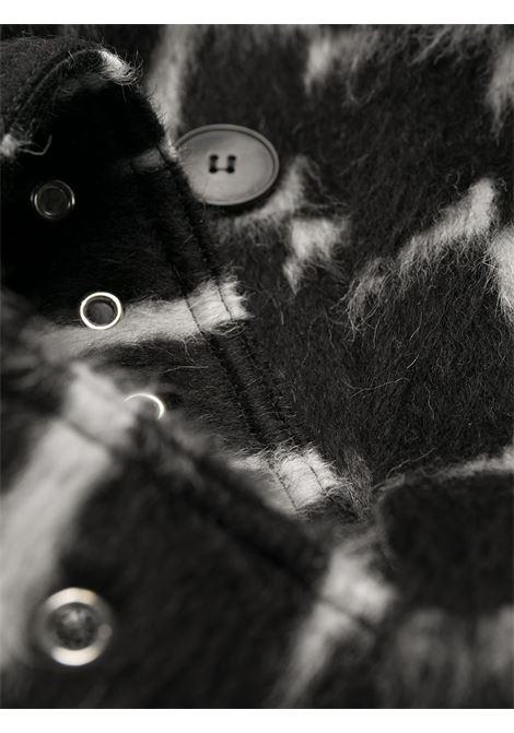 Cappotto nero VALENTINO | CAPPOTTI | UV0CAC386QQ0NI