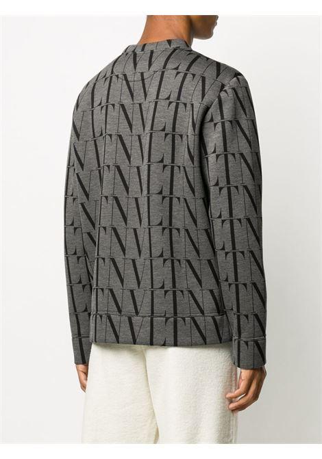 Gray/black jumper VALENTINO |  | UV0MF04S6WGG93